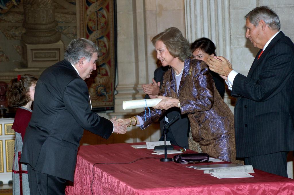 Entrega del Premio Reina Sofía de Poesía Iberoamericana 2006