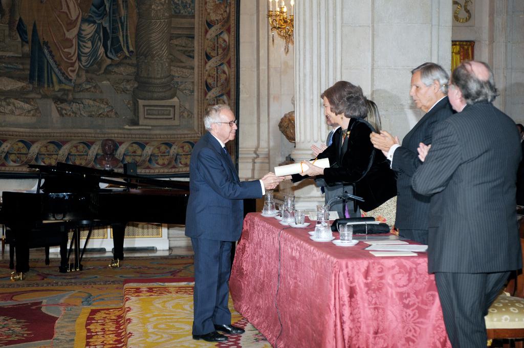 Entrega del Premio Reina Sofía de Poesía Iberoamericana 2008