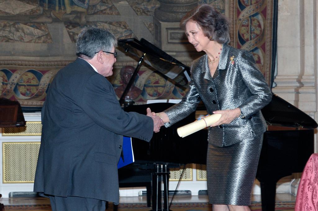 Entrega del Premio Reina Sofía de Poesía Iberoamericana 2009