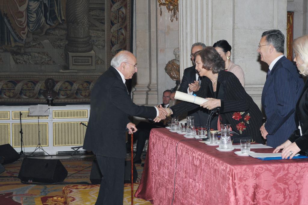 Entrega del Premio Reina Sofía de Poesía Iberoamericana 2010