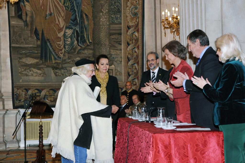 Entrega del Premio Reina Sofía de Poesía Iberoamericana 2012