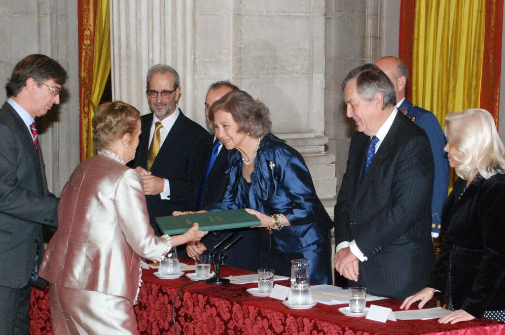 Acto de entrega Premio Reina Sofía 2014