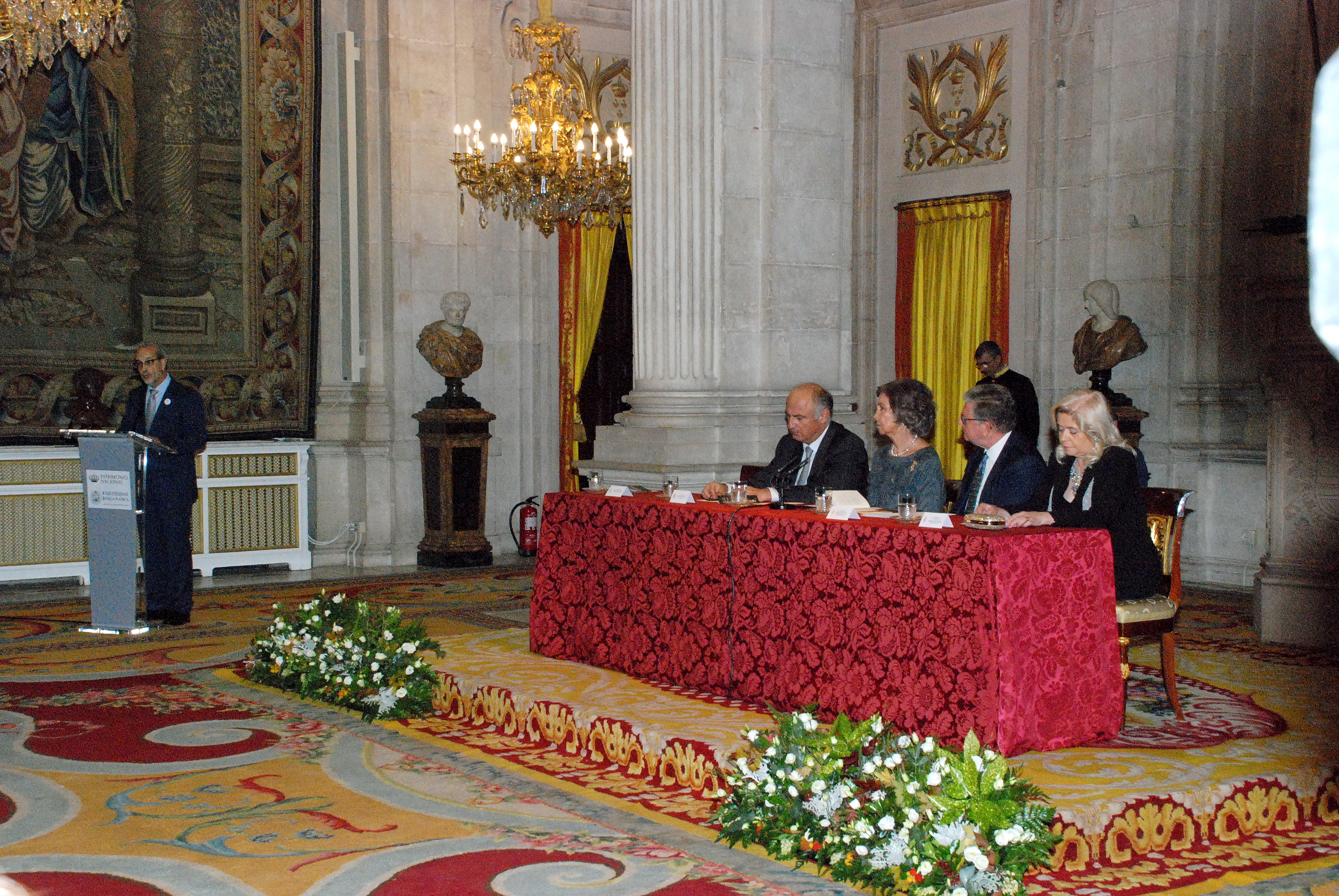 ACTO DE ENTREGA XXV PREMIO REINA SOFÍA DE POESÍA IBEROAMERICANA